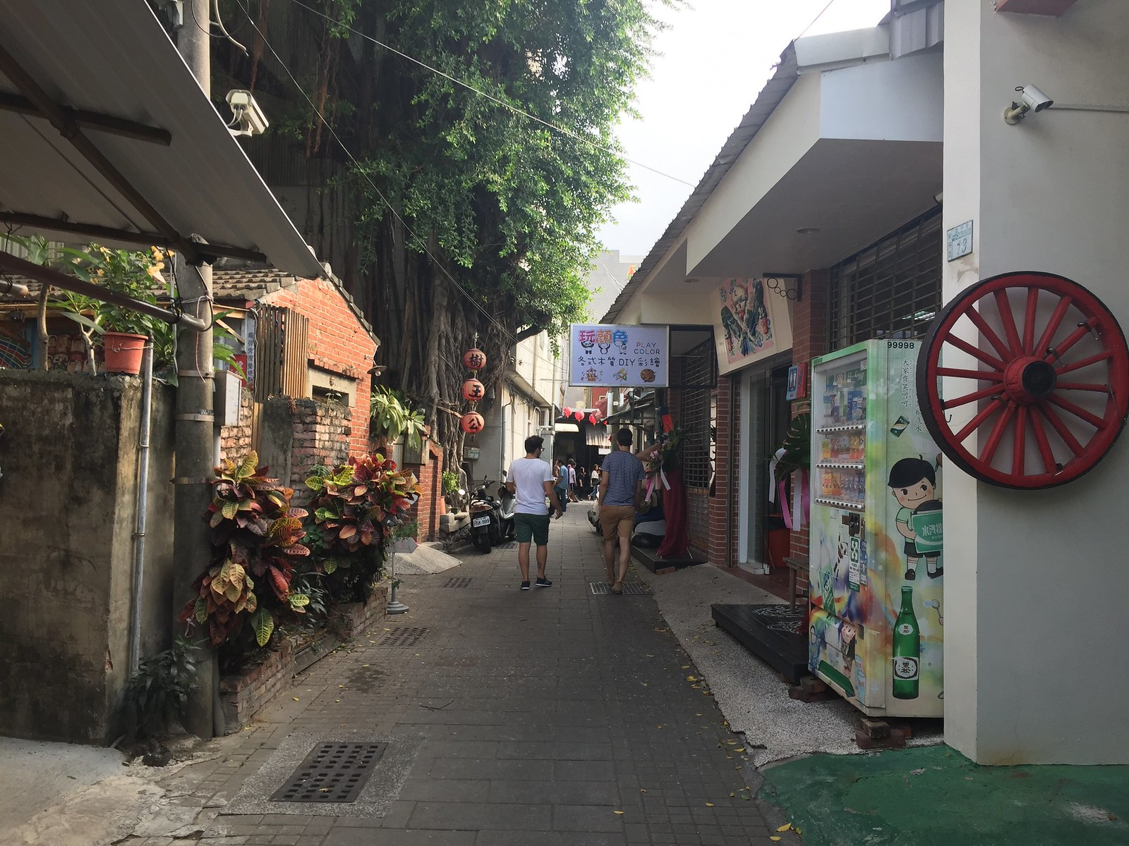 Anping streets