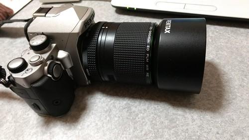 機材紹介 HD PENTAX-DA 55-300mmF4.5-6.3ED PLM WR RE