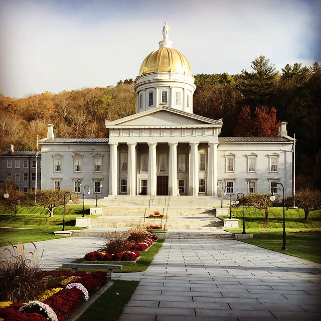 Fall 2017 New England - Day 3 - Vermont State House