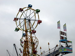 Sky Wheel And Fun Slide.