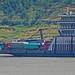 Ferry down the Yangtze.
