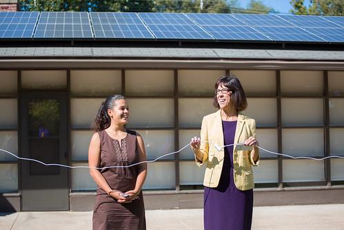 Solar Project Dedication