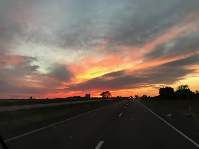 2017.10.04 Sunset in Iowa