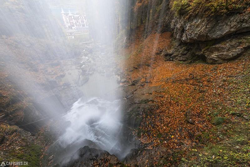 Waterfall - Giessbachfälle