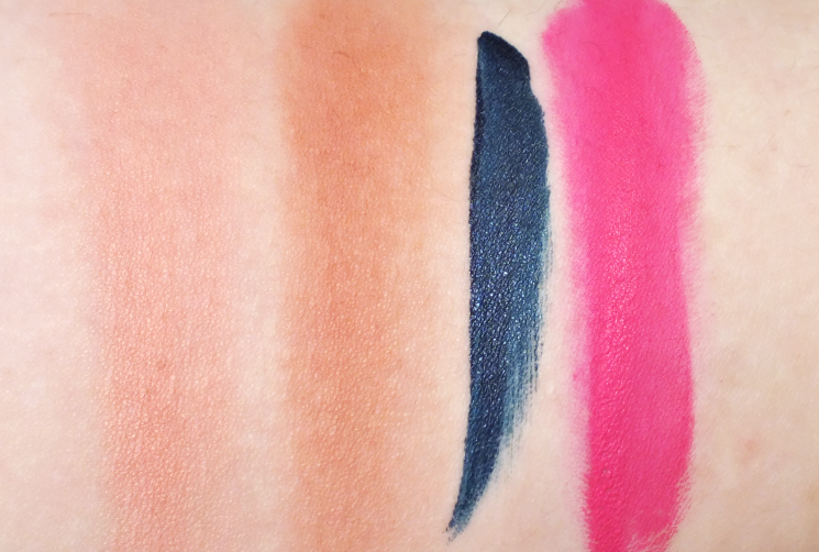 the fast five make up for ever edition swatches