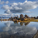 Calm Early Fall Day at South Tufa by Jeffrey Sullivan