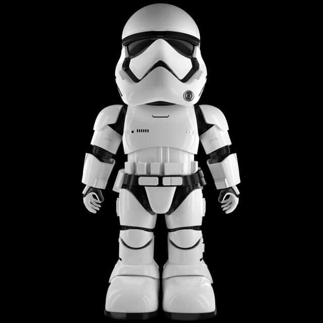 你也能擔任第一軍團的指揮官!!UBTECH 星際大戰【第一軍團風暴兵互動機器人】First Order Stormtrooper Robot