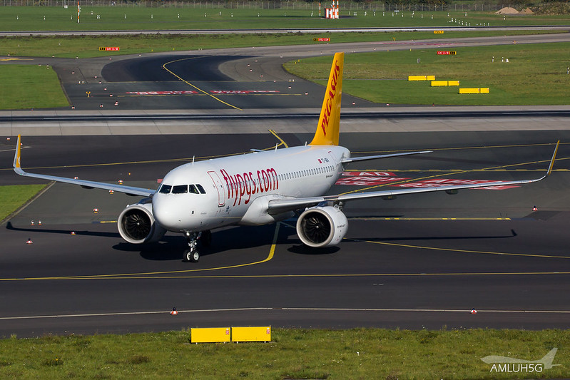 Pegasus Airlines - A320 - TC-NBA (1)