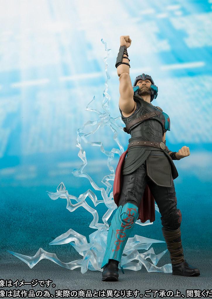 雷霆再現!! S.H.Figuarts《雷神索爾3:諸神黃昏》索爾&閃電特效件套組 ソー (Thor: Ragnarok) & THUNDER EFFECT SET