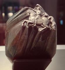 Paris Mint Museum Hub horse rider closeup