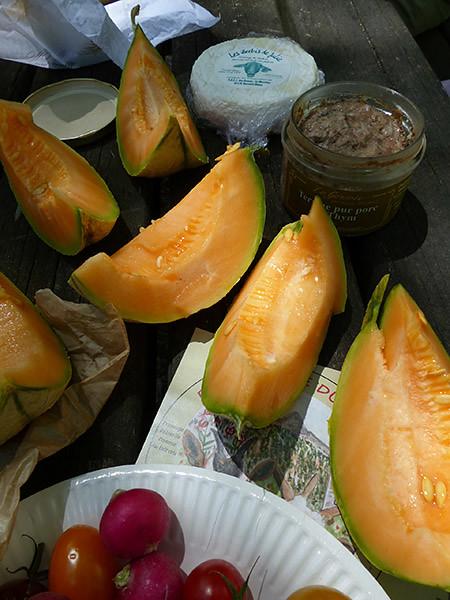 terrine et melon