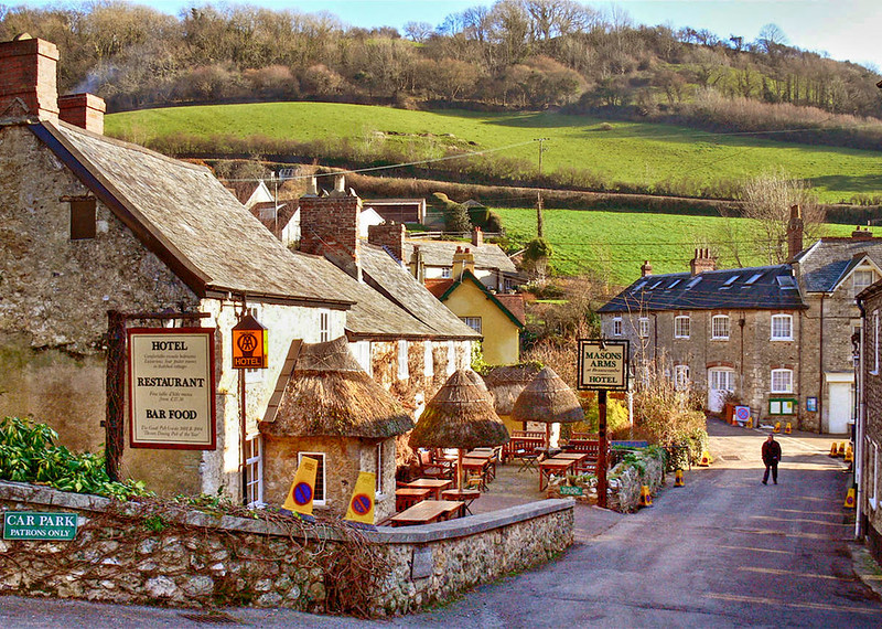 Branscombe Village, Devon. Credit Gary Turner, flickr