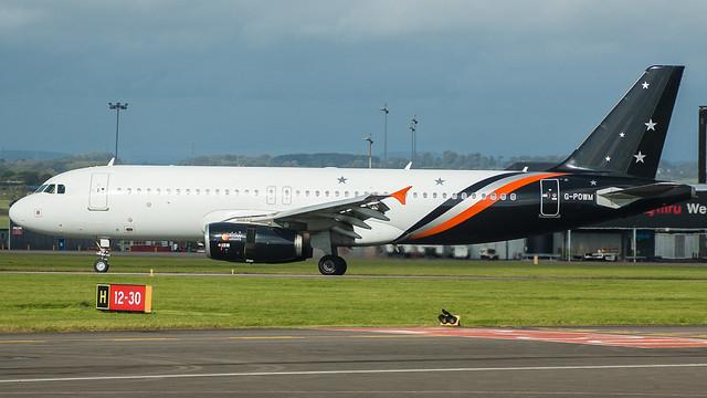 G-POWM - Titan 320 @ Cardiff Airport 071017