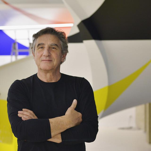 Felice Varini © Chiara Tiraboschi