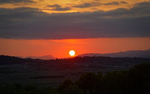 Sunset over Mallorca