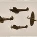 Spitfires & Hurricane - RIAT 2017 by Airwolfhound