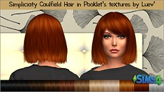 Simpliciaty Caulfield Hair # Pooklet textures