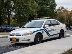 CUNY Public Safety Car, Bronx Community College, New York City