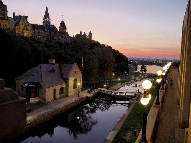 Rideau Canal Dusk