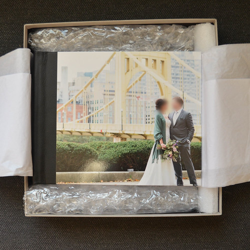 Picaboo Madison Hardcover Photo Book in the box