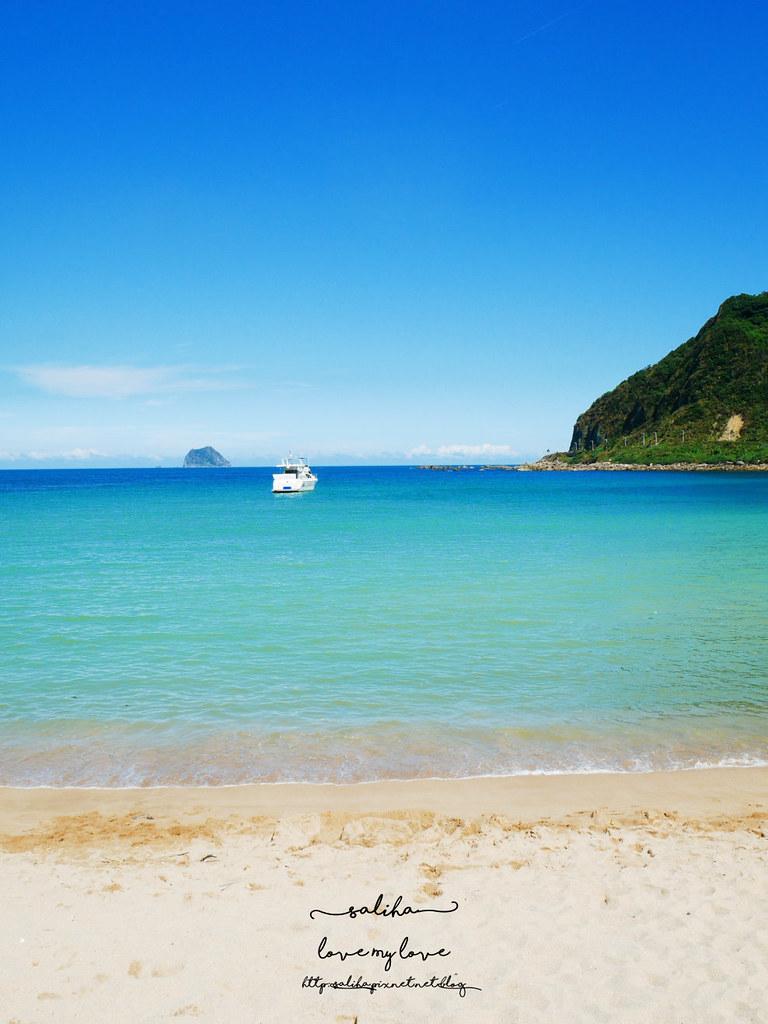 基隆北海岸玩水游泳一日遊海邊景點行程推薦外木山大武崙情人沙灘