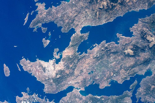 Greece from the International Space Station