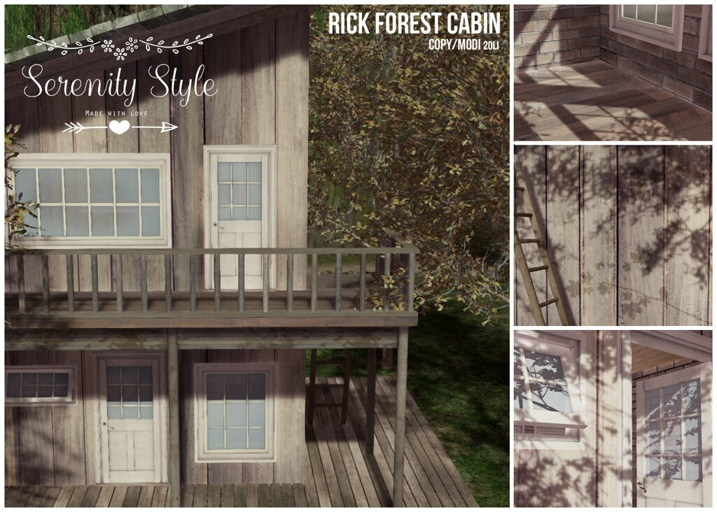 Serenity Style- Rick Forest Cabin Adv
