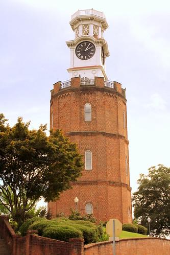 rome ga georgia floydcounty clock tower clocktower 1872 bmok bmok2 nrhp