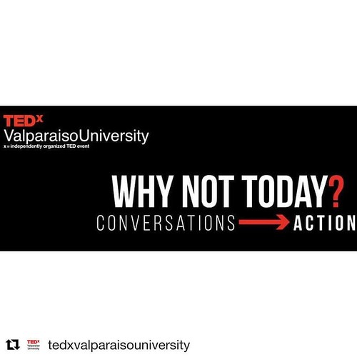 "It's your last chance to apply to be a speaker at @tedxvalparaisouniversity in January 2018! #TEDx #Repost @tedxvalparaisouniversity ・・・ ""You don't have to be great to start, but you have to start to be great"" -Zig Ziglar There is only ONE more day to app"