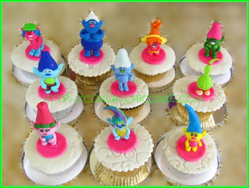 troll cupcake