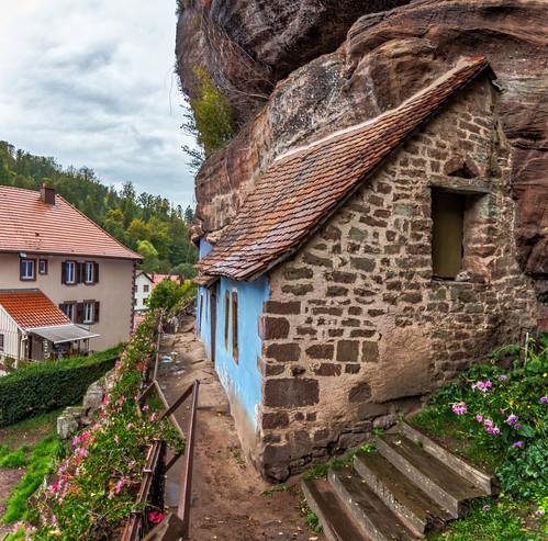 Maison des Rochers de Graufthal