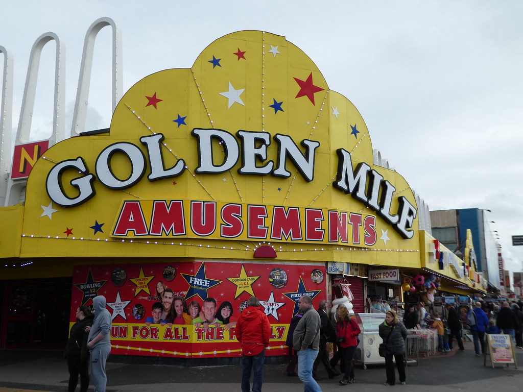 The Golden Mile, Blackpool