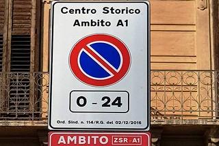 Noicattaro. Parcheggi ZSR front