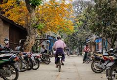 Street in Mandalay, Myanmar