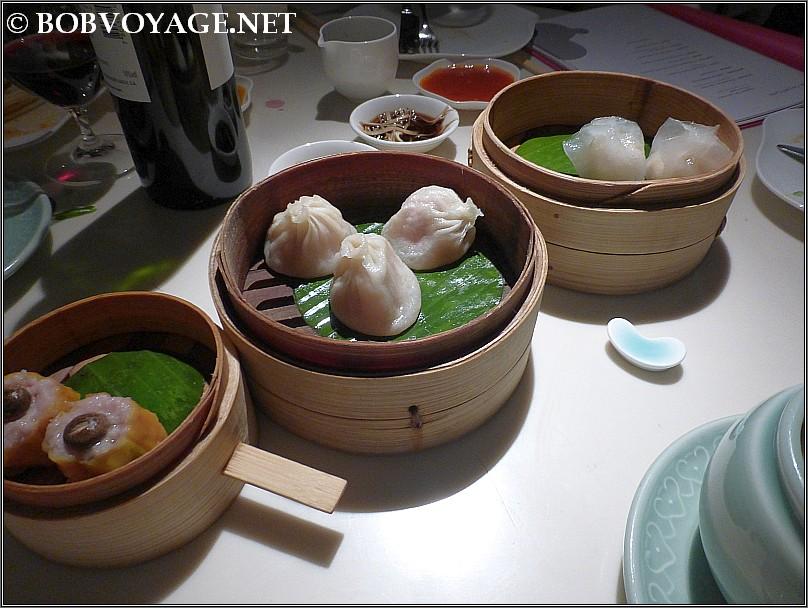 Siew Long bun , Shui Mai  ו- Har Gow (Gau) ב- יאוצ'ה