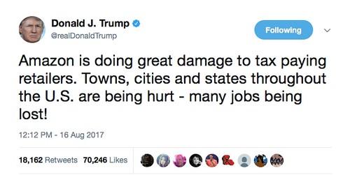 Trump-tweet-Amazon