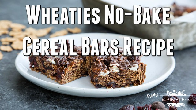 Wheaties No-Bake Cereal Bars Recipe from The SIMPLE Moms