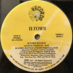 H-TOWN:KNOCKIN' DA BOOTS(LABEL SIDE-B)