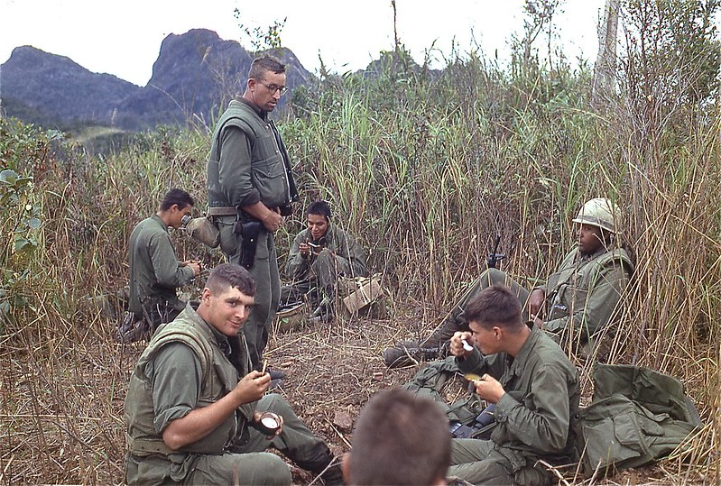2d Platoon, Mike Co Marines on a Sweep, 1967