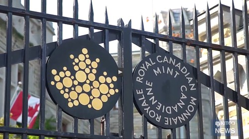 Royal Canadian Mint gate