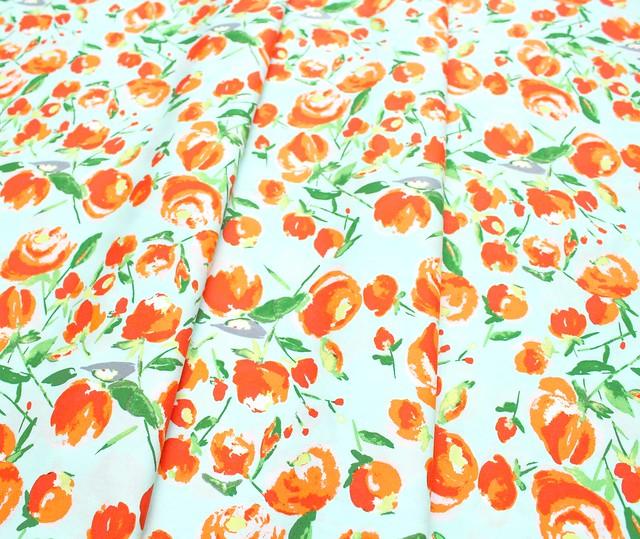Art Gallery Fabrics Wild Bloom Everlasting Blooms Citrus