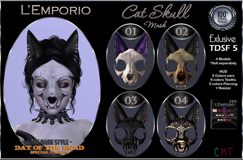 Cat Skull Mask @TDSF - TeleportHub.com Live!
