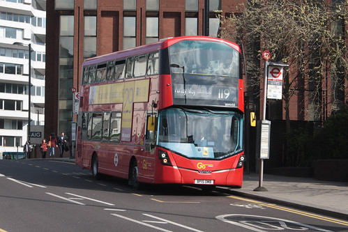 Go-Ahead London WHV55 BP15OMB