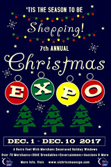 7th Annual SL Christmas Expo Poster