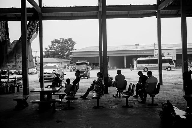 Luang Namtha - Bus Station