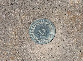 Northwest Angle - International Boundary Commission Border Marker