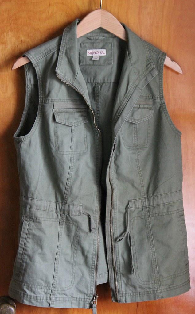 Target military vest