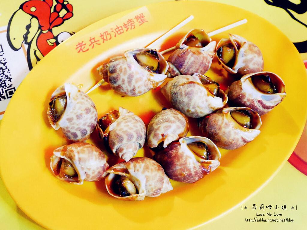 基隆夜市海鮮攤奶油螃蟹熱炒小吃必吃推薦 (6)