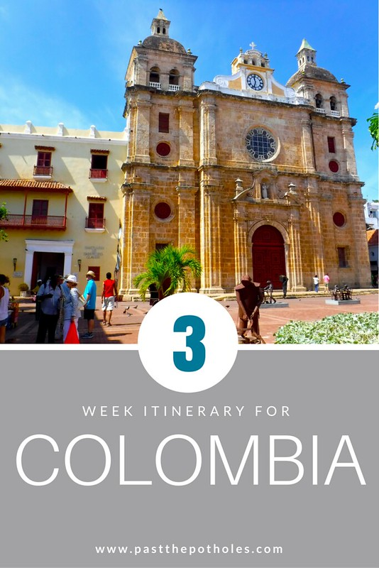 best places to visit in Colombia, Colombia itinerary