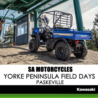 KAWASAKI DEALER EVENTS – Yorke Peninsula Field Day, Paskerville, SA – 26th – 28th September 2017